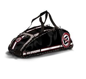 no errors dinger wheeled bat bag black