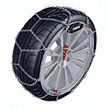 Thule 10mm CS10 Super-Premium Passenger Car Snow Chain, Size 103 (Sold in pairs)