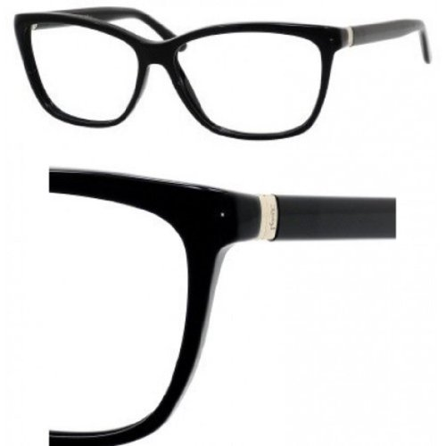 Yves Saint Laurent Yves Saint Laurent 6363 Eyeglasses-0807 Black-56mm