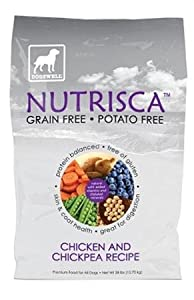 DOGSWELL 842426 Nutrisca Chicken and Chick Pea Food for Pets, 28-Pound
