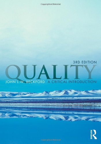 Quality: A Critical Introduction, Third Edition