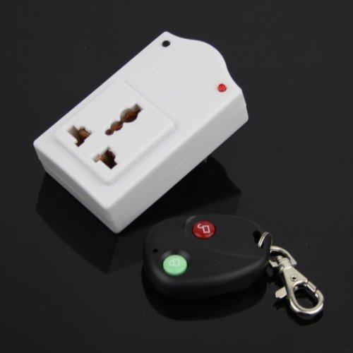 Onedayshop® Ir Wireless Remote Control Ac Power Switch Outlet Socket Plug