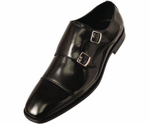 Мужские кожаные лакированные туфли