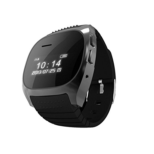 Soyan R-Watch Bluetooth M18 Smart Led Watch With Dial/Call Answer /Music Player For Iphone/Android Black