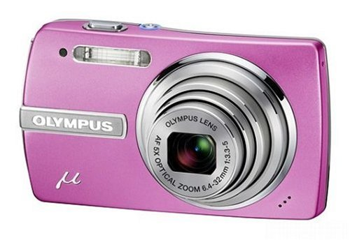 "Olympus Mju 840 Digital Camera - Candy Pink (8.0MP, 5x Optical Zoom) 2.7"" LCD"