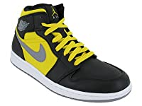 Nike Men's NIKE AIR JORDAN 1 PHAT BASKETBALL SHOES (364770 050), 10.5