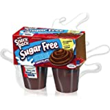Hunt's Snack Pack Pudding, Sugar Free, Chocolate , 4-Count (Pack of 6) ~ Hunt's