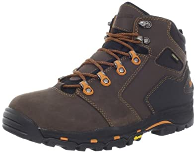 Danner Men's Vicious 4.5-Inch Work Boot,Brown/Orange,7 D US