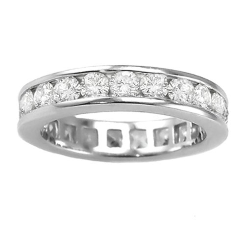 3.00 CT TW Round Diamond Eternity Wedding Band