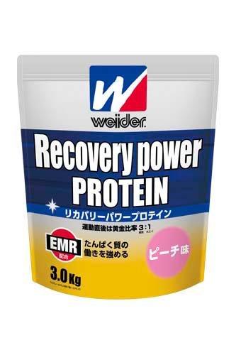 ウイダー リカバリーパワープロテイン ピーチ味 3.0kg 28MM12303 EMR配合