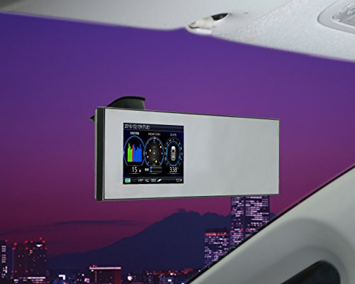 コムテック 4.0インチ液晶搭載 モーションセンサー搭載 ドラレコ相互通信対応 高感度GPSミラーレーダー探知機ZERO802M