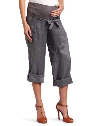 Jules & Jim Women's Maternity 2 In 1 Cargo Pant