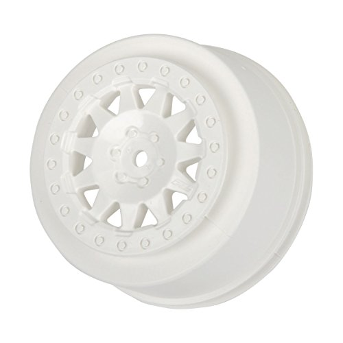 Pro-Line Racing 274004 F-11 2.2/3.0 White Wheels for Protrac Kits, SCTE 4 x 4, 2-Pack