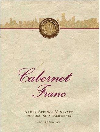 2010 City Winery Kosher Cabernet Franc 750 Ml