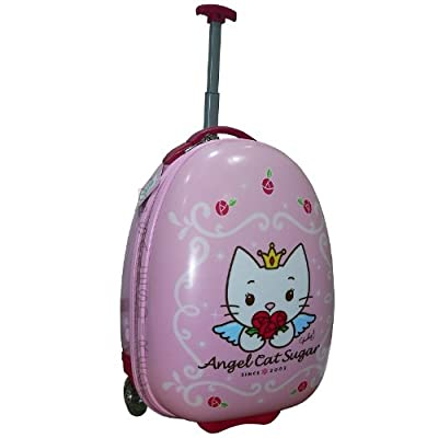 Trade Mark Collections Angel Cat Sugar Pebble Wheeled Bag from Trade Mark Collections