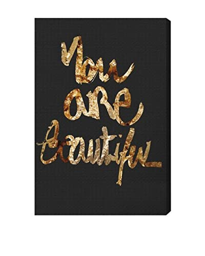 Oliver Gal You Really Are Gold Canvas Art