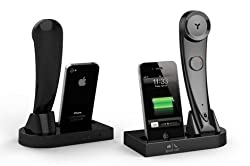 Bluetooth Handset with Charging Docking Station with Charger Cable and Socket For Acer Z630S