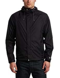 White Sierra Men's Trabagon Jacket (Black, Small)
