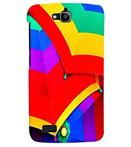 PRINTVISA Abstarct Colourful Umbrella Case Cover for Huawei Honor Holly