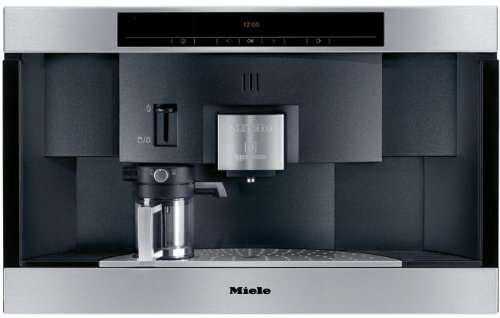 Miele : CVA2662SS 24 Built-In Nespresso Capsule Coffee System - Stainless Steel
