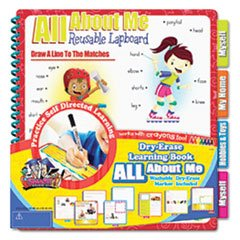 The Board Dudes 99140UA-4 - SMARTDUDES PRINTING LEARNING BOOK, ABOUT ME, SIX PAGES, GRADE K AND UP - 1
