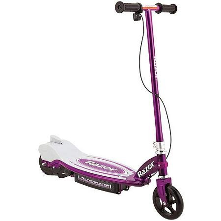 Razor Accelerator 12-Volt Electric Scooter, Purple Colour