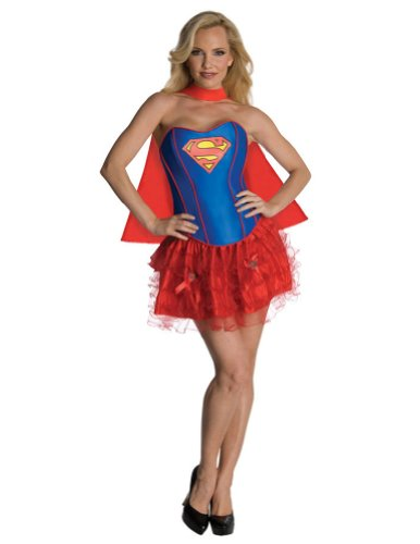 Supergirl Flirty Adult Costume Sm Adult Womens Costume