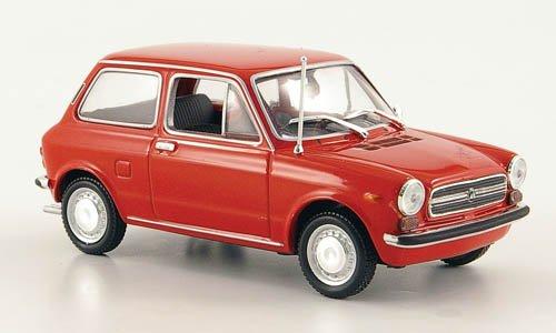Autobianchi A 112, rot , 1974, Modellauto, Fertigmodell, Minichamps 1:43