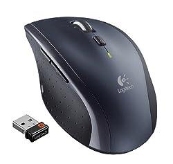 Logitech Wireless Marathon Mouse M705 With 3-year Battery Life (910-001935)