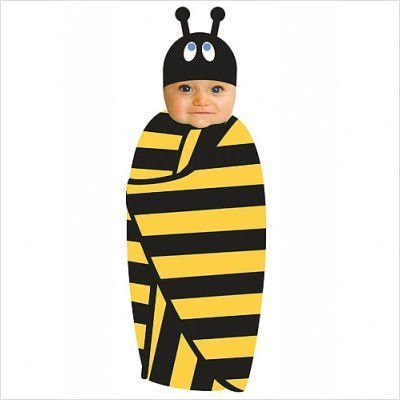 Beehave Swaddle and Cap
