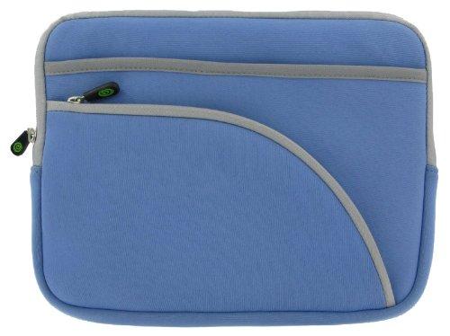 Blue TriPocket Neoprene Sleeve Case for Apple iPad 16GB (iPad NOT Included)