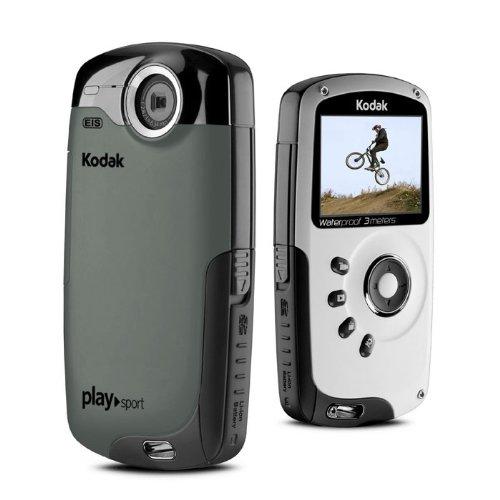 Kodak ZX3 Playsport Black Video Camera - Refurbished