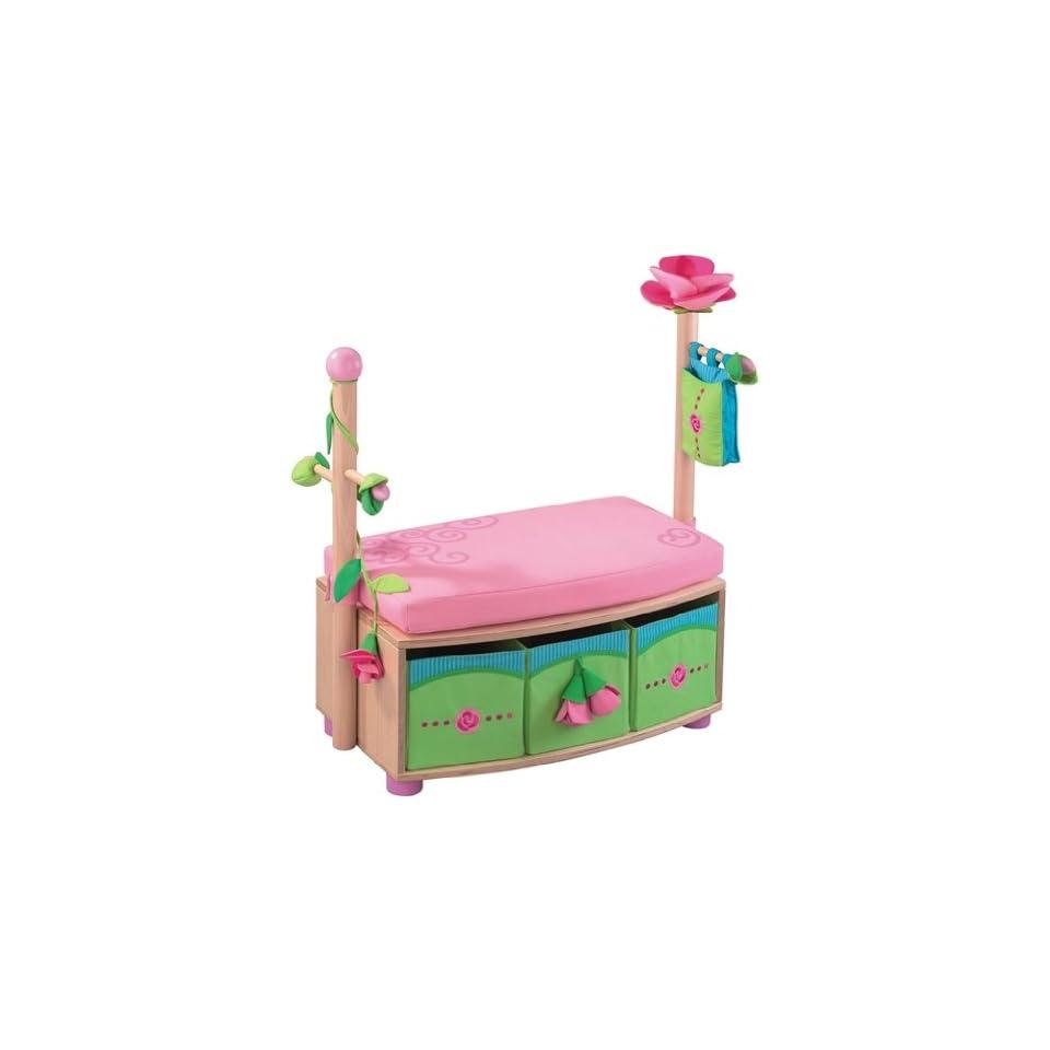 8565 HABA Sitzgarderobe Rosenfee Spielzeug on PopScreen