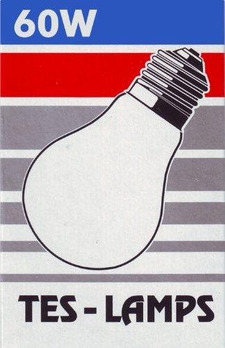 1x TESLAMP Glühlampe AGL / 60W / 230 V / E27 / matt