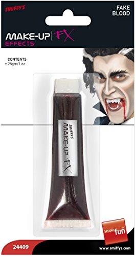 Sangue finto tubetto liquido rosso trucco horror Dracula vampiro