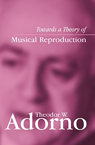 Towards a Theory of Musical Reproduction: Notes, a Draft and Two Schemata