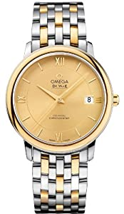 NEW OMEGA DEVILLE PRESTIGE CO-AXIAL MENS WATCH 424.20.37.20.08.001