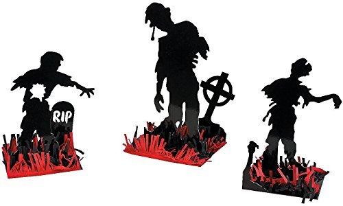 Zombie Party 3 Piece Table Centerpiece