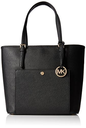 michael-michael-kors-jet-set-large-top-zip-snap-pocket-tote-black