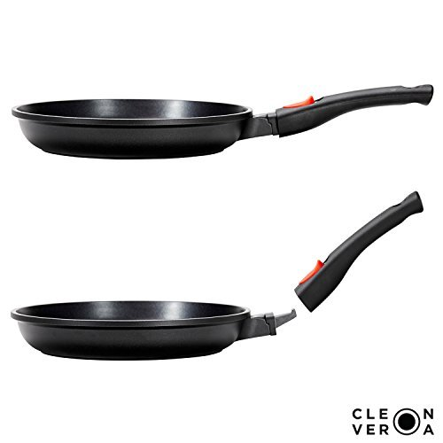 Cleverona Essential Nonstick 10.25 Inch Fry Pan with SecureSnap Detachable Handle (Handle Removable Pan compare prices)