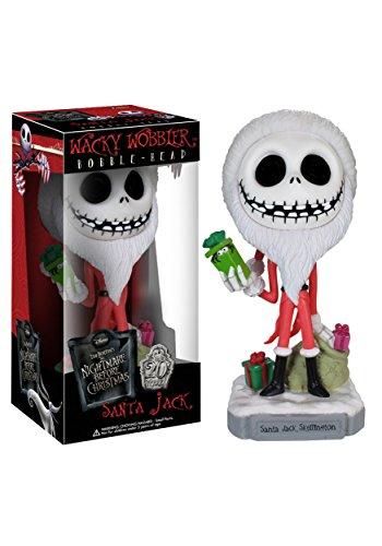 The Nightmare Before Christmas Santa Jack Skellington Wacky Wobbler (Santa Jack Funko compare prices)
