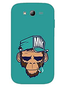 Monkey Swag - Hard Back Case Cover for Samsung Grand Duos - Superior Matte Finish - HD Printed Cases and Covers