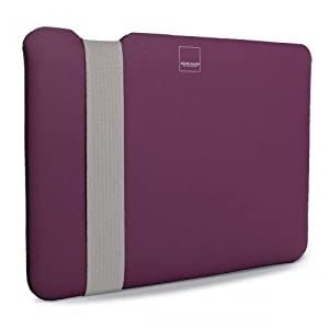 "Acme Made Laptop Case / The Skinny Sleeve for 13"" MacBook Air Laptop in Pink / Grey color"