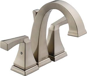 delta 4551 ss dryden two handle mini widespread lavatory