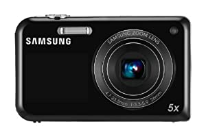 Samsung PL170 Digital Camera - Black (16MP, 5x Optical Zoom) 1.5-inch Front, 3.0-inch Rear LCD