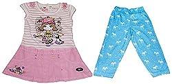 Bisbasta Baby Girl's Dress (fidatopfzpl_Multi_12 to 18 Months)