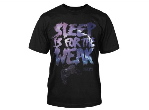 Major League Gaming – Sleep is for the Weak – T-shirt (Large)