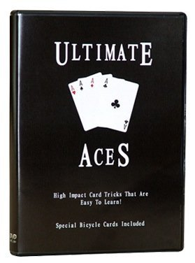 Ultimate Aces DVD - High Impact Card Tricks That Are Easy to Learn!