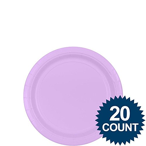"""Lavender 7"""" Paper Plates, 20 Ct. - 1"""