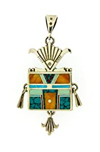 Pendant Inlay  Ray Tracey Design